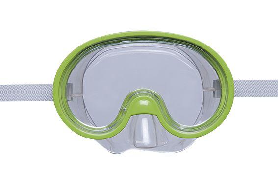 Máscara De Mergulho Infantil Mor Verde