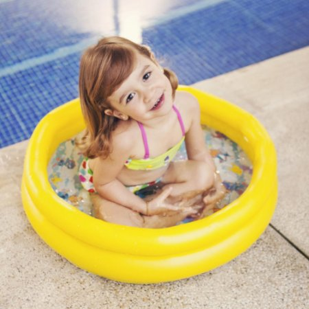 Piscina 40l Backyardigans Amarelo