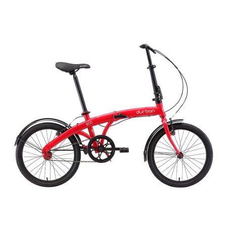 Bicicleta Durban Dobrável Eco Vermelho