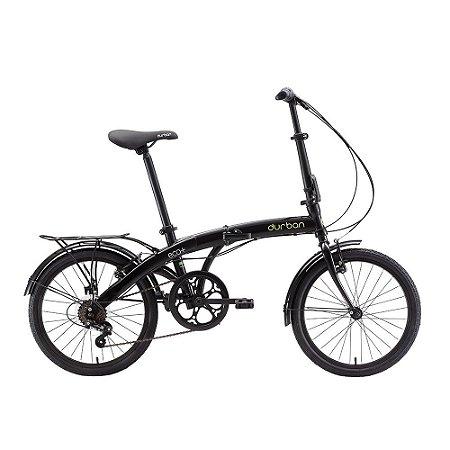 Bicicleta Durban Dobrável Eco Preto