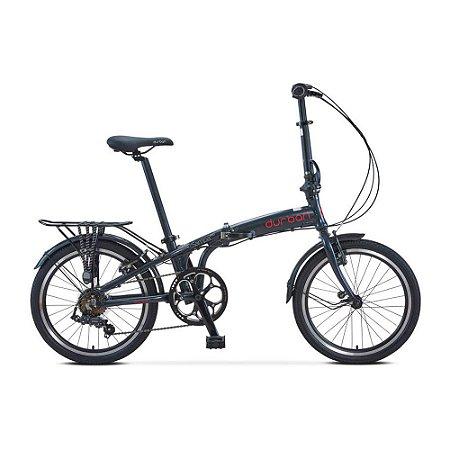 Bicicleta Durban Dobrável Sampa Pro Azul