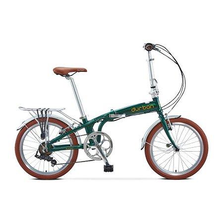 Bicicleta Durban Dobrável Sampa Pro Verde