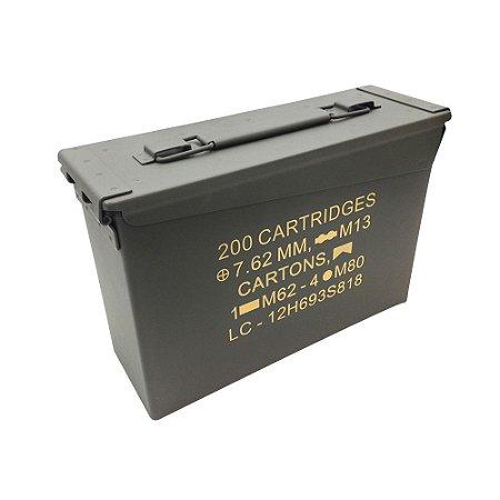 Caixa Para Munição Nautika Tático Ammo Box