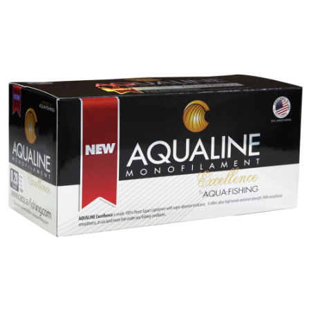 Conjunto de Linhas AQUAFISHING Mono Excellence 0,38mm/24,2Lb