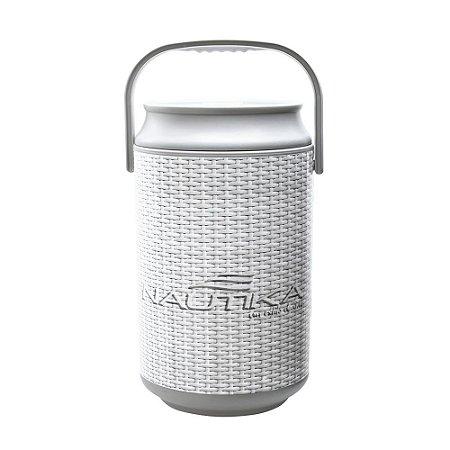 Cooler Nautika Rattan Polipropileno E Polietileno  24 Latas