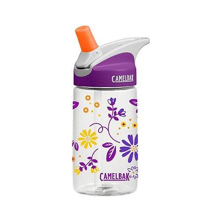 Garrafa CamelBak Eddy Kids 0,4 L Flores