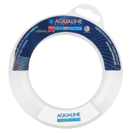 Linha de Pesca Leader Aquafishing Tactics 0,40mm/15Lb/60m
