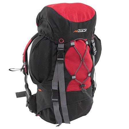 Mochila Nautika Everest 35 Litros Preto e Vermelho