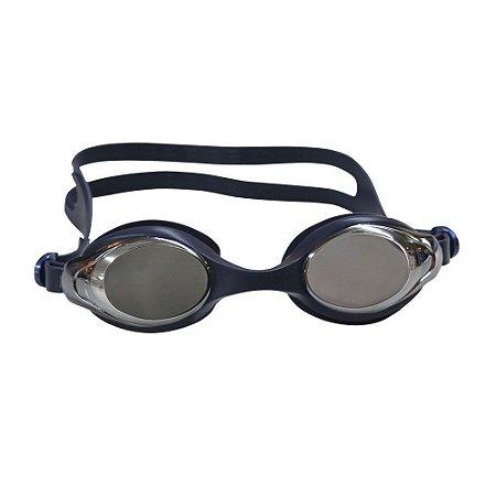 Óculos Nautika De Natação Astro Adulto Preto e Azul