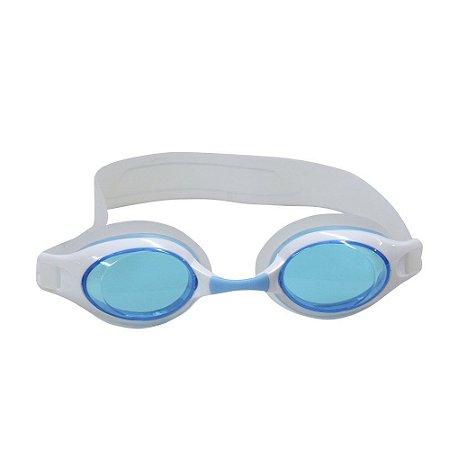 Óculos Nautika De Natação Century Branco e Azul