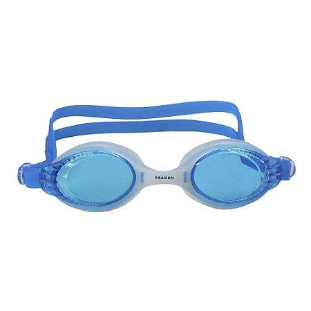 Óculos Nautika De Natação Dragon Branco e Azul