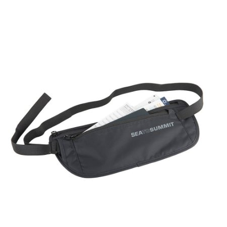 Pochete Sea to Summit Money Belt Preto