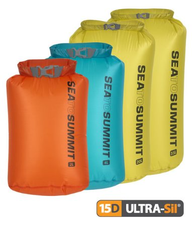 Saco Estanque Sea to Summit Nano Ultrasil 20 Litros