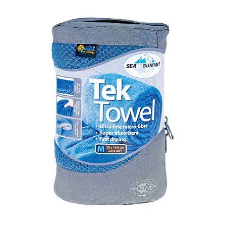 Toalha Sea to Summit Tek Towel M Azul