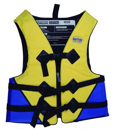 Colete Salva-Vidas Mor 60kg Amarelo E Azul