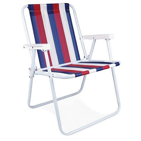 Cadeira Alta Mor em Aço Cores Diversas
