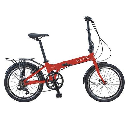 Bicicleta Durban Dobravel Bay Pro Vermelho