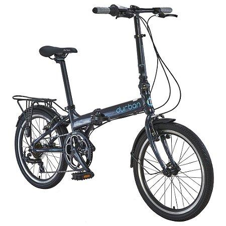 Bicicleta Durban Dobravel Bay Pro Grafite