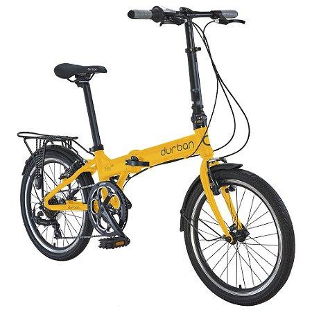 Bicicleta Durban Dobravel Bay Pro Amarelo
