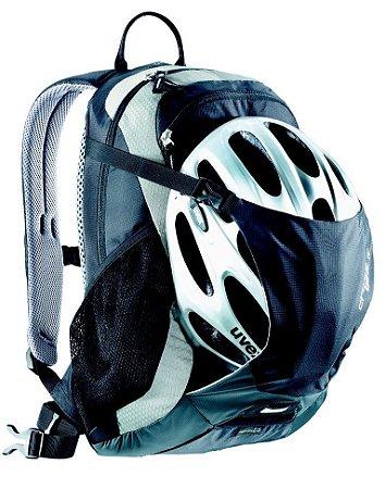 Mochila Deuter Para Hidratação Cross Bike 18 Preto