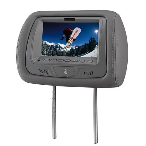Encosto de Cabeça KX3 Tela LCD 7 Pol TM706 Grafite