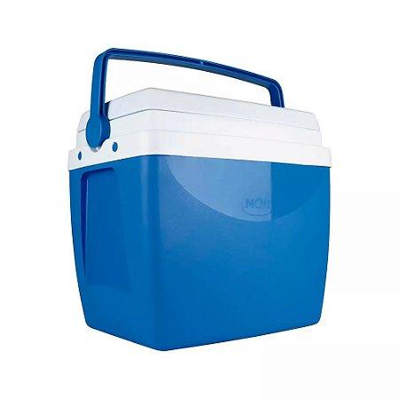 Caixa Térmica Mor 26 Litros Azul