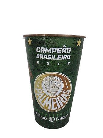 Copo Colecionável Palmeiras Campeão Brasileiro 2018 - 500ml