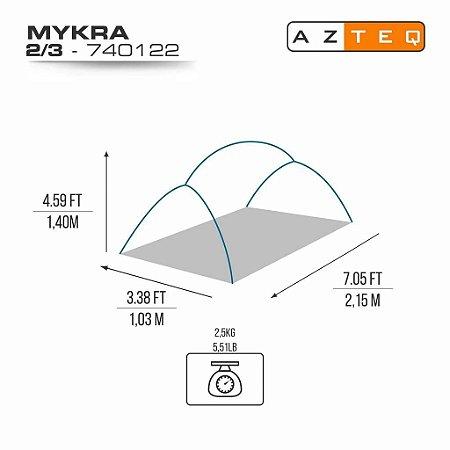 BARRACA MYKRA 2/3P