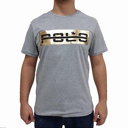 Camiseta Polo RG518 de Malha Estampa Refletiva