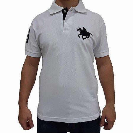 KIT com 3 Camisas Polo RG518 Piquet Básica