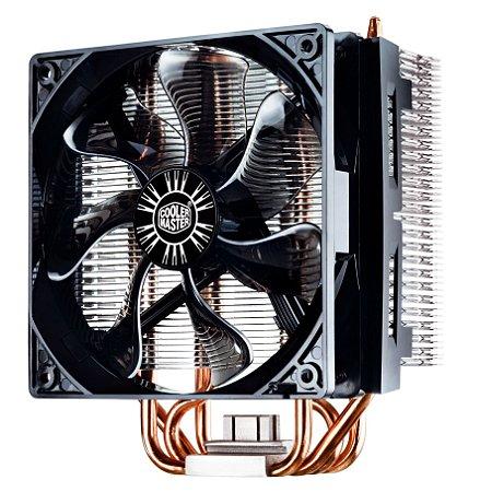Cooler para Processador Air Cooler Master T4 - AMD / INTEL - TDP 130W - RR-T4-18PK-R1