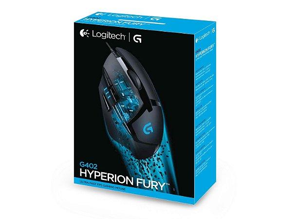 Mouse Gamer LOGITECH G402 HYPERION FURY (910-004083)