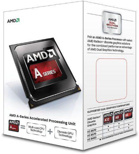 Processador AMD A4 7300 Dual Core Cache 1MB 3.8GHz (4.0GHz Max Turbo) FM2 AD7300OKHLBOX