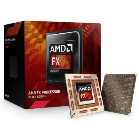 Processador AMD FX-6300 Black Edition Cache 8MB 3.5Ghz AM3+ FD6300WMHKBOX