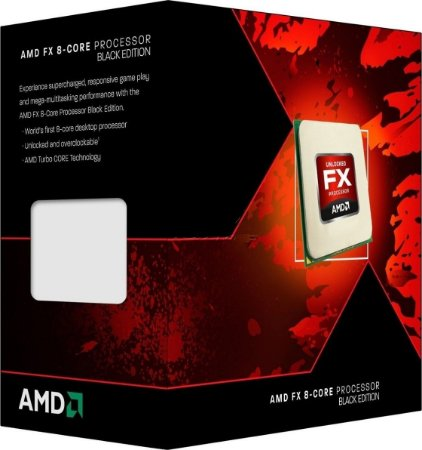Processador AMD Black Edition FX 8320E Octa Core 3.2GHz (4.0GHz Max Turbo) 16MB AM3+ FD832EWMHKBOX