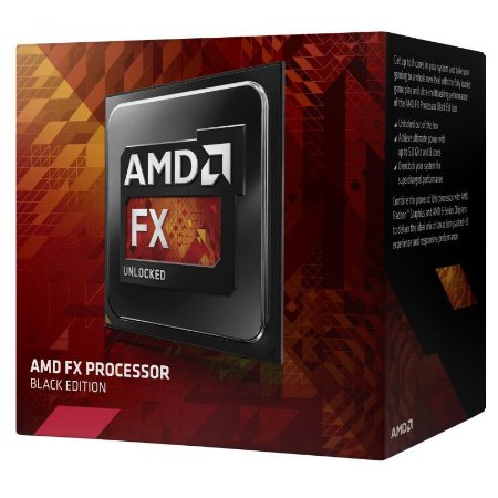 Processador AMD FX 8370 Octa Core Black Edition Cache 16MB 4.0GHz (4.3GHz Max Turbo) AM3+ FD8370FRHKBOX