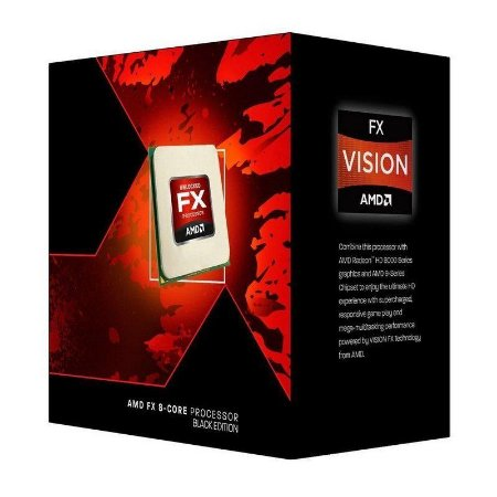 Processador AMD FX 9590 Octa Core Black Edition Cache 16MB 4.7GHz (5.0GHz Max Turbo) AM3+ FD9590FHHKWOF