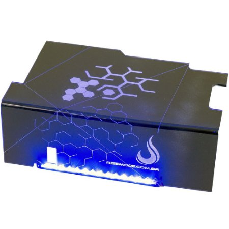 Cover PSU Rise Ice Cold (Blue Led) RM-CP-01-ICE