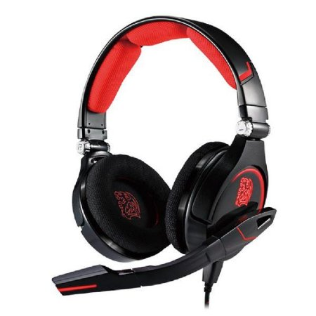 Headset Gamer Thermaltake TteSports Cronos Gaming Black - HT-CRO008ECBL