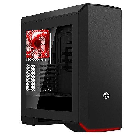 Gabinete Cooler Master - MasterCase PRO 6 LED Vermelho - MCY-C6P2-KW5N-01