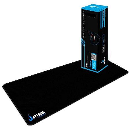 Mousepad RiseMode Standard Costurado Extended Fibertek - RG-MP-06-STD