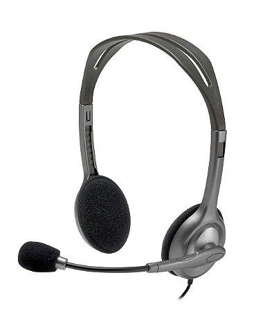 Headset Logitech H110 - 981-000305