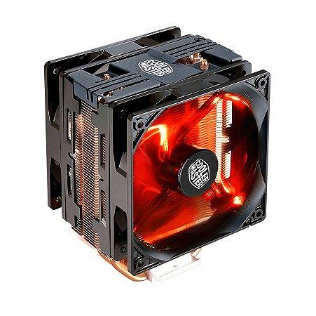 Cooler para Processador Air Cooler Master Hyper 212 LED Turbo Black Cover RR-212TK-16PR-R1