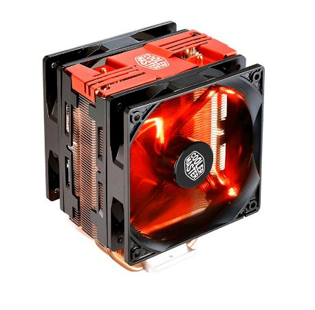 Cooler para Processador Air Cooler Master Hyper 212 LED Turbo Red Cover RR-212TR-16PR-R1