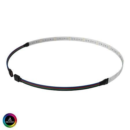 Fita de LED Rise Mode para PC - 50 cm - RGB Motherboard - RM-TL-01-RGB