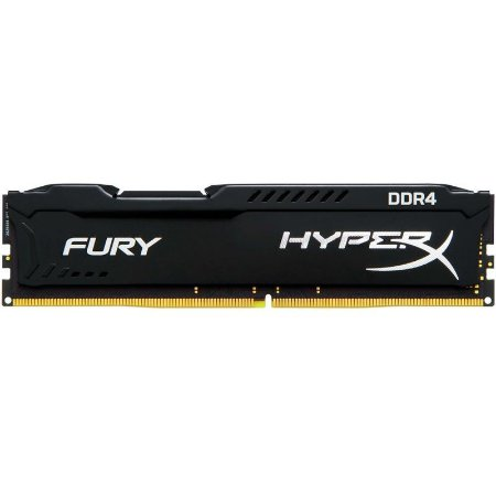 Memória Kingston HyperX FURY 8GB 2400Mhz DDR4 Black - HX424C15FB2/8