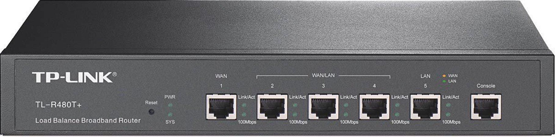 Roteador Tp_link Broadband Com Equilibrio De Carregamento TL-R480T+