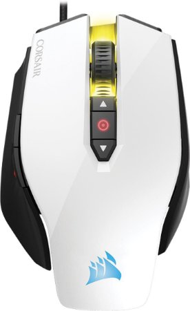 Mouse Corsair Gaming OPTICO M65 12000 DPI PRO BRANCO