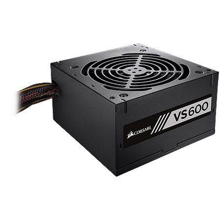 Fonte Corsair ATX 600W VS600 80PLUS WHITE CP-9020119-LA