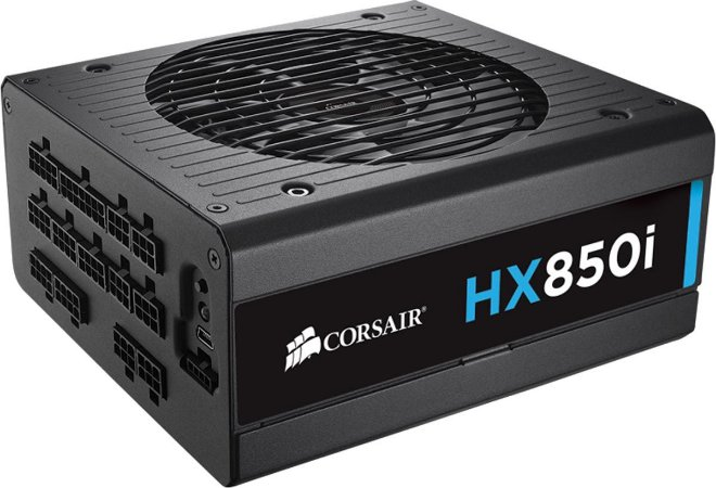Fonte Corsair ATX 850W HXI850 FULL-MODULAR 80PLUS PLATINUM